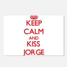 Keep Calm and Kiss Jorge Postcards (Package of 8)