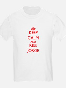 Keep Calm and Kiss Jorge T-Shirt