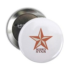 "Rodeo Star 2.25"" Button"