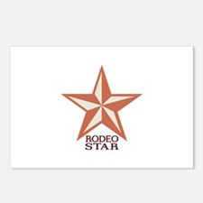 Rodeo Star Postcards (Package of 8)