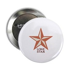 "Lone Star 2.25"" Button"