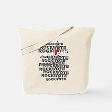 Unique Rock vote Tote Bag