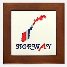 Norway Framed Tile