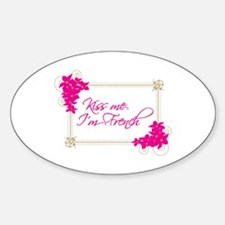 Kiss Me Im French Decal