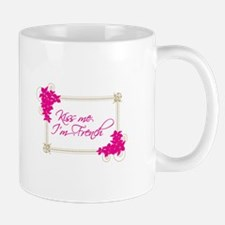 Kiss Me Im French Mugs