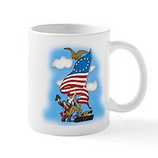 Vintage Patriotic Mug