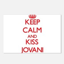 Keep Calm and Kiss Jovani Postcards (Package of 8)