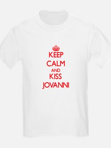 Keep Calm and Kiss Jovanni T-Shirt