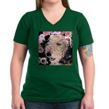 Summer Roses Airedale T-Shirt