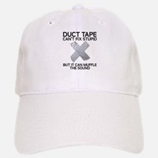 Duct Tape Fix Stupid Muffle The Sound Hat