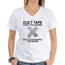 Duct Tape Fix Stupid Muffle The Sound T-Shirt