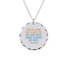 Clark Griswold Quote Necklace