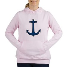 Boat anchor Women's Hooded Sweatshirt