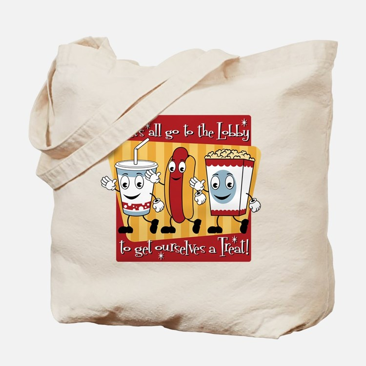 Lets all go to the Lobby Tote Bag