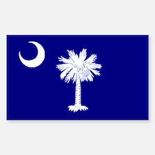 South Carolina Flag Rectangle Decal