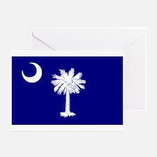 South Carolina Flag Greeting Cards (Pk of 10)