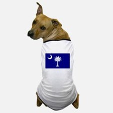South Carolina Flag Dog T-Shirt