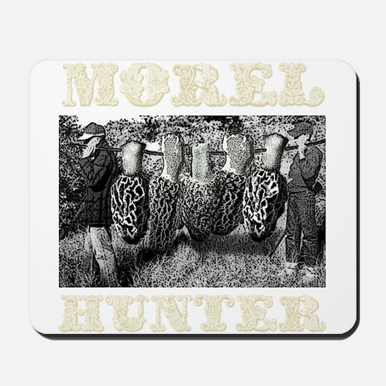 morel hunter game pole Mousepad
