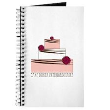 Cake Baker Extraordinaire Journal