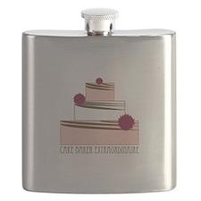 Cake Baker Extraordinaire Flask