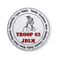 troop 62 Ornament (Round)