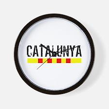 Catalunya Wall Clock