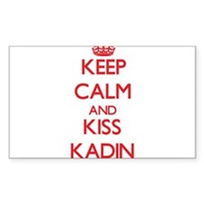 Keep Calm and Kiss Kadin Decal