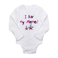 Unique Meme Long Sleeve Infant Bodysuit