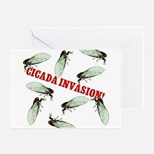 Cicada Invasion Greeting Cards (Pk of 10)