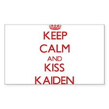 Keep Calm and Kiss Kaiden Decal