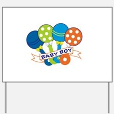 Baby Boy Yard Sign