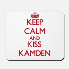 Keep Calm and Kiss Kamden Mousepad