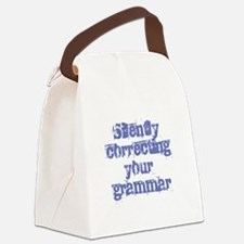 Your Grammar Canvas Lunch Bag