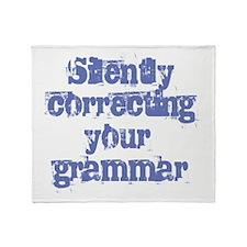 Your Grammar Throw Blanket