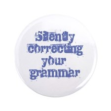 "Your Grammar 3.5"" Button (100 pack)"