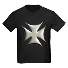 Titanium Chrome Biker Cross T