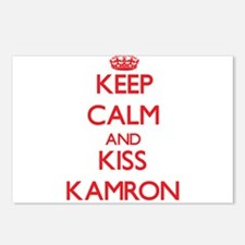 Keep Calm and Kiss Kamron Postcards (Package of 8)