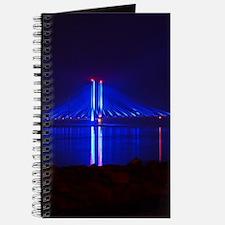 Indian River Bridge at Night Journal