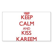 Keep Calm and Kiss Kareem Decal