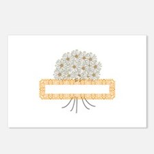Daisy Bouqet Frame Postcards (Package of 8)