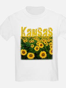 Kansas Sunflower Field T-Shirt