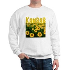 Kansas Sunflower Field Sweatshirt
