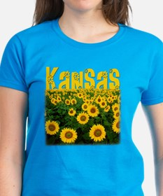 Kansas Sunflower Field Tee