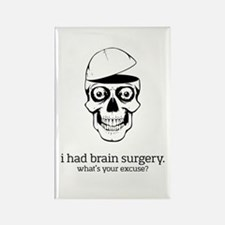 I Had Brain Surgery Magnets