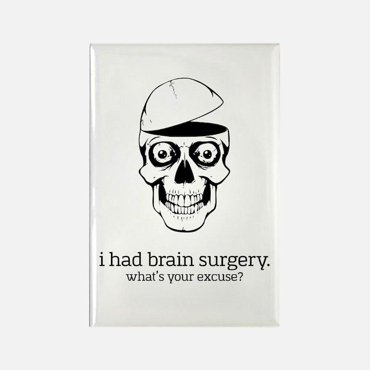I Had Brain Surgery Magnets