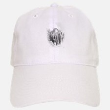 Half Dome Winter Portrait Baseball Baseball Baseball Cap