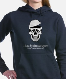 I Had Brain Surgery - dark apparel Women's Hooded