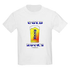Cold Beer Rocks T-Shirt
