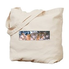 4 Wolves Tote Bag