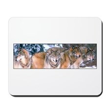 4 Wolves Mousepad